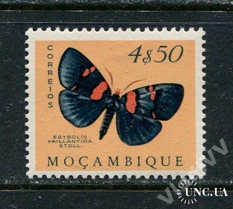 Порт. Мозамбик 1953 Чистая * Бабочки Фауна 4,5-