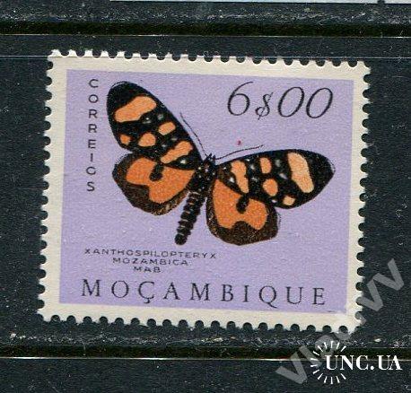 Порт. Мозамбик 1953 Чистая * Бабочки Фауна 6-