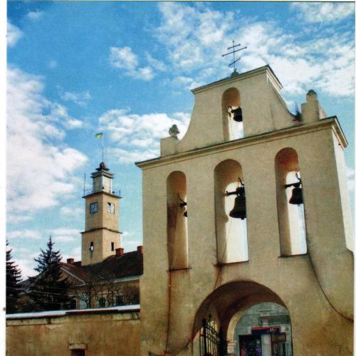 Дзвіниця монастиря оо. Кармелітів
