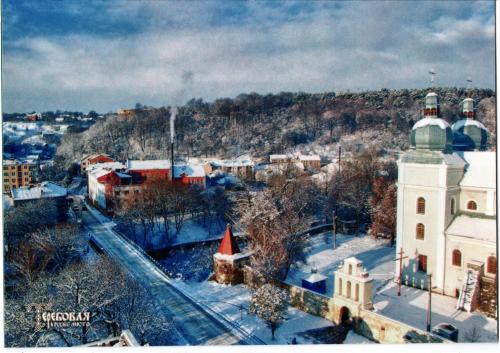 Вид на монастир оо. Кармелітів з ратуші.