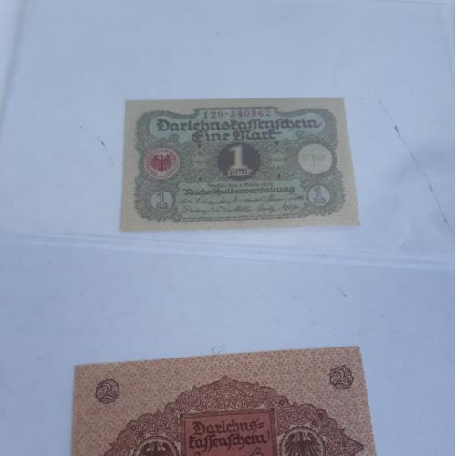 Набор банкнот Германия 1920 год