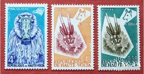 """Серія """"Фауна"""". Республіка Верхня Вольта. 1960р. MNH."""
