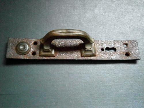 Старинная дверная ручка 18-19 век