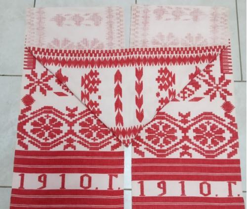старинный рушник 100 лет вышивки