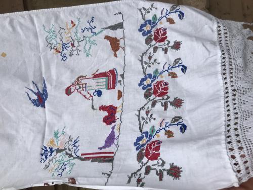Старинный рушник вышивка есть много колекций