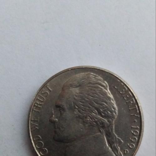 25 центов 1999 г США.D.