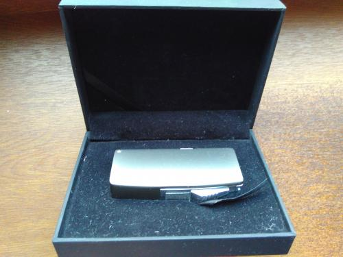 Зажигалка для сигар в подарочной упаковке Honest (Острое пламя)для раскуривания сигар и трубки