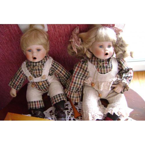 Коллекционные германские интерьерные куклы