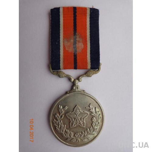 """ЮАР. Медаль """"За заслуги"""" отличное состояние очень редкая"""