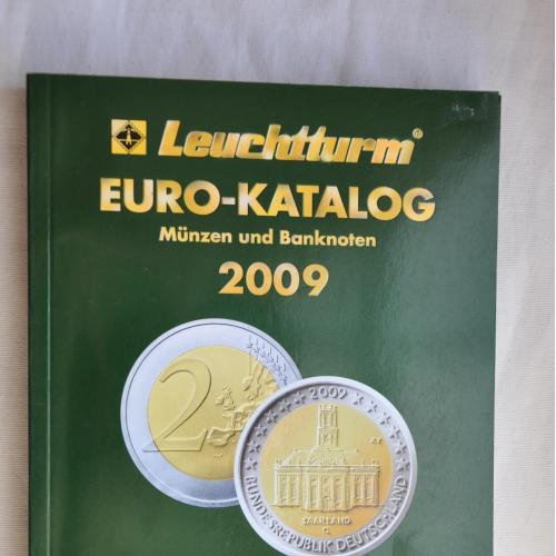 Каталог монет і банкнот країн Європи 2009 року.