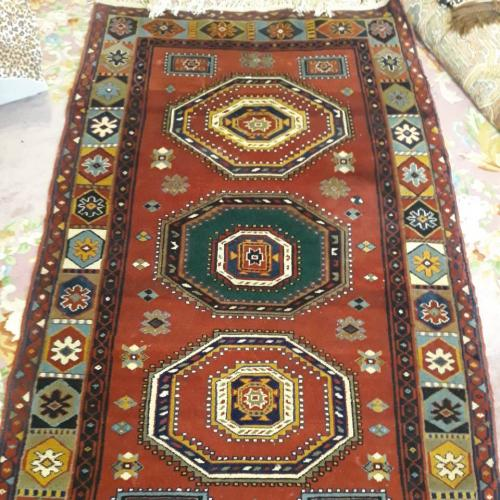 Антикварный ковёр ручной работы, продажа, реставрация