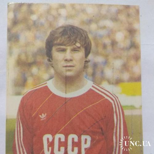 Календарик * Серия Динамо Киев * Анатолий Демьяненко * 1989