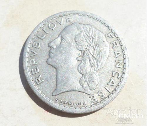 Франция 5 франков 1947  -