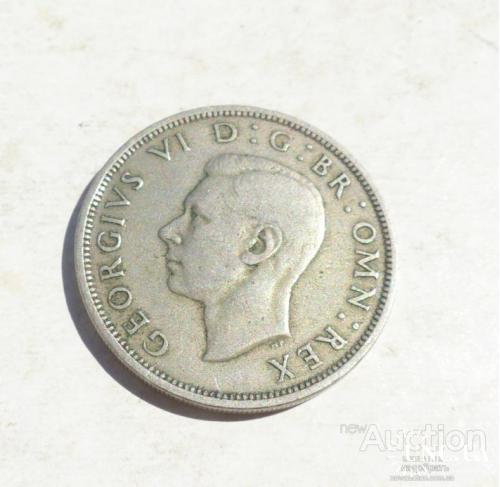 half crown 1948 - Новая Зеландия пол кроны 1948 г. -