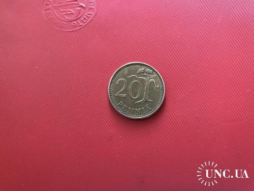 1968, Финляндия 20 пенни