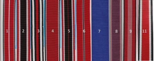 Германия ІІІ РЕЙХ Орденские ленты на награды и медали
