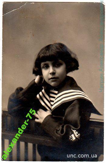 Девочка-морячка.