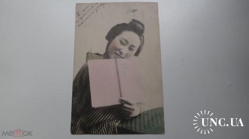 Китайская девушка. Ученица. Письмо. Зеньков. Марусовой.
