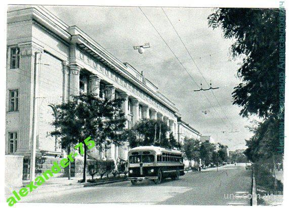 Крым.Севастополь.Улица Ленина.
