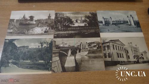 Лот. 12 открыток. Москва. 30 е года.