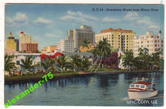Майами.Река.Яхта.