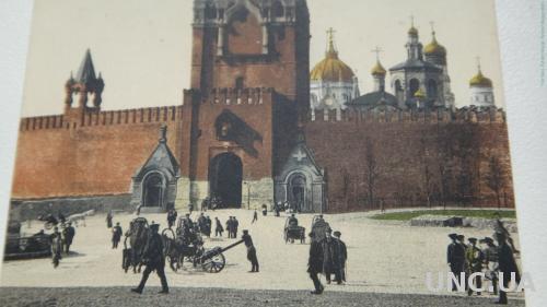 Москва. Спасские ворота. Площадь.