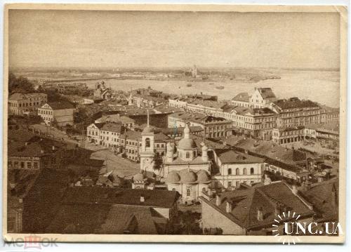 Нижний Новгород. 475. Слияние рек.Вид ярмарки и города.