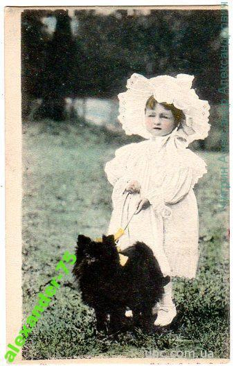 Собака.Девочка с собачкой.