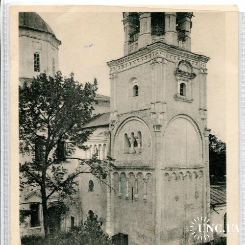 Собор. Церковь.  Св. Евгении.. Останки палат. Боголюбовский монастырь. Окресности Владимира.