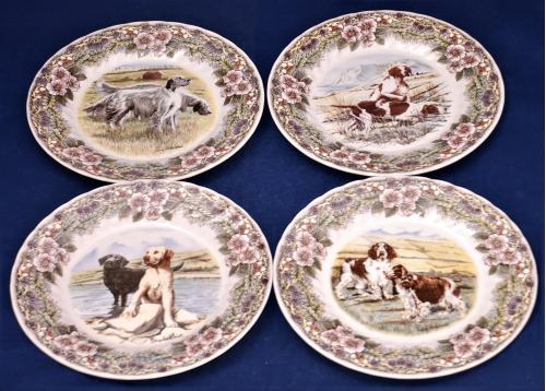 Настенные тарелки. Коллекционные. Серия Охотничьи собаки.