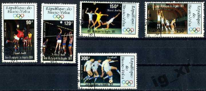Верхняя Вольта. Олимпиада (серия). 1984 г.