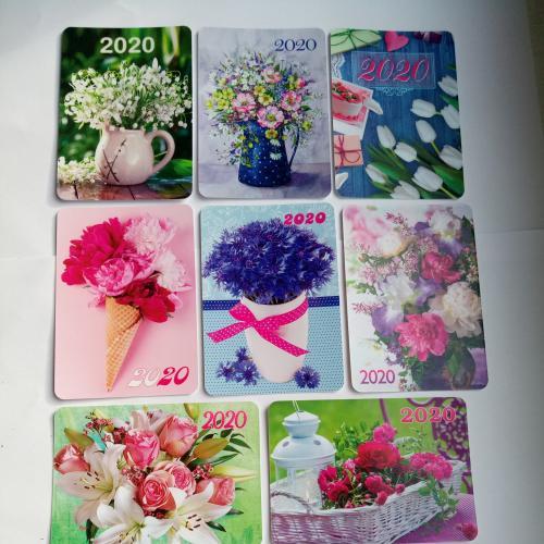калeндарики 2020 квіти