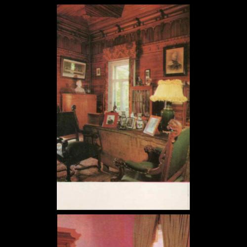 Набор открыток: Дом- музей П.И. Чайковского в Клину 1971г. тираж 152.000