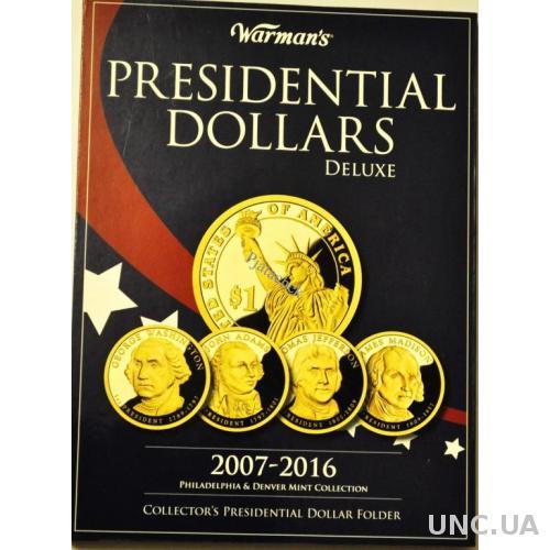 Альбом 1 доллар США Президенты 2 двора