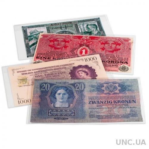 Обложка для банкнот 204 х 123 мм (запаяна с 3х сторон) 10 штук
