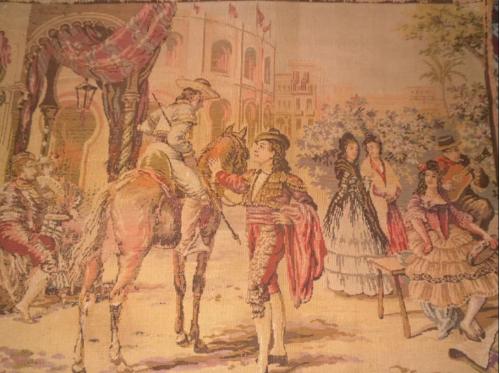 Гобелен Бельгия начало ХХ века