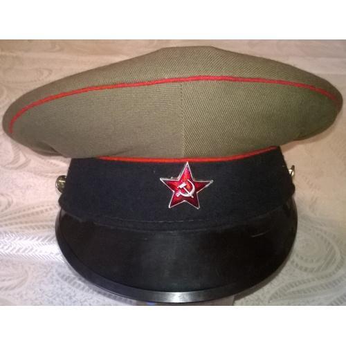 фуражка солдатская, СССР