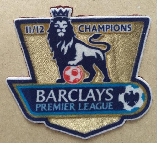Нашивка. Barclays premier league