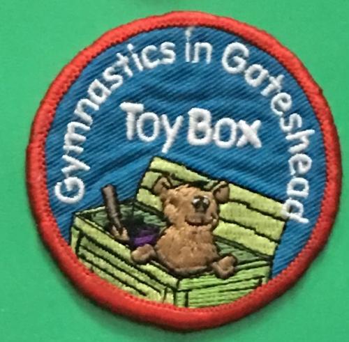 Нашивка. Gymnastics in Gotesheead