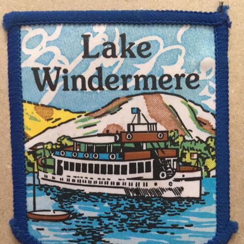 Нашивка. Lake Windermere