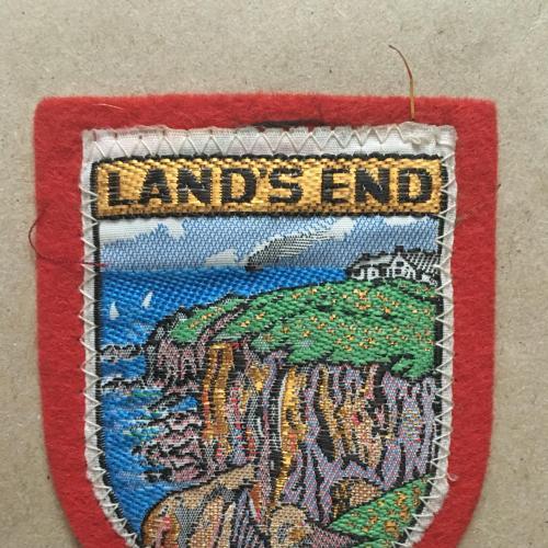 Нашивка. Land's end