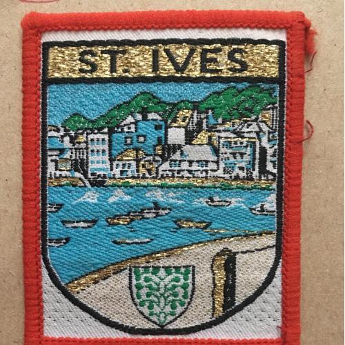 Нашивка. St. Ives