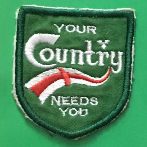 Нашивка. Your Country needs you