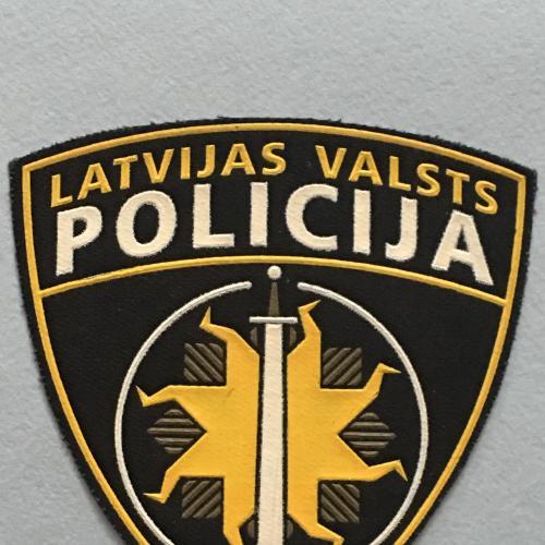 Шеврон. Полиция. Латвия