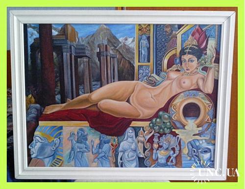 Копия  картины  «Аллегория  искусства».