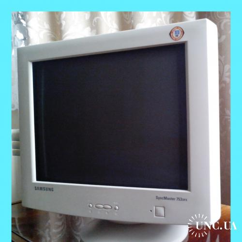 "Монитор  ""Samsung SyncMaster""  753DFX  (б/у)."