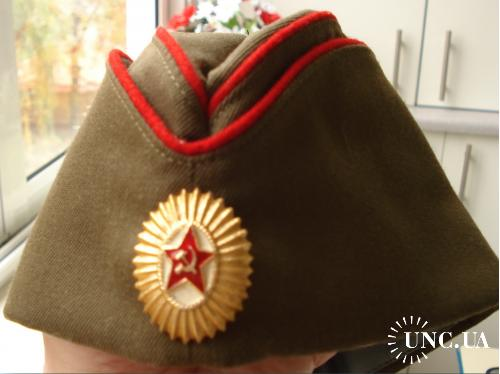 "Пилотка  ВС СССР  ""Язовка""."