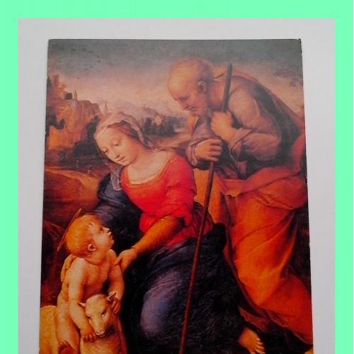 Почтовая  открытка  «Рождество Христово».