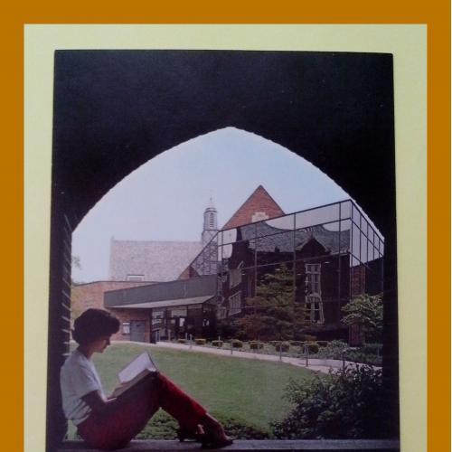 Почтовая  открытка  США «Rochester, Nazareth college» (2).