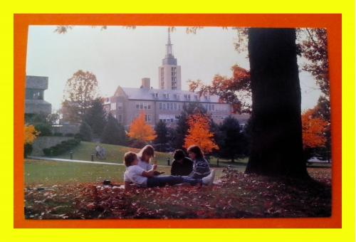 Почтовая  открытка  США «Rochester, St. John Fisher college».
